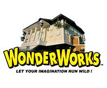 Two tickets to Wonderworks Attraction in Orlando, FL